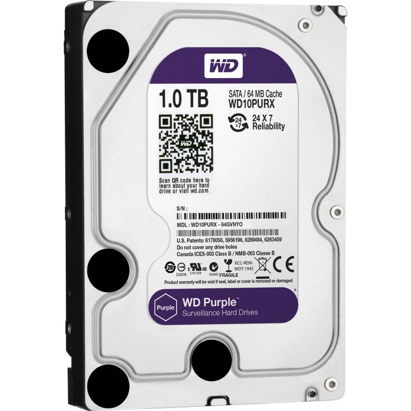 WD HDD PURPLE 1TB